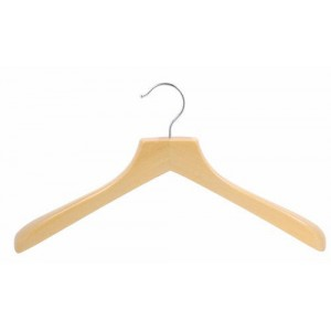 "18"" Classic Curved Coat Hanger"