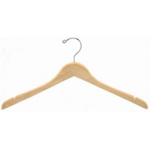 Classic Curved Coat or Top Hanger