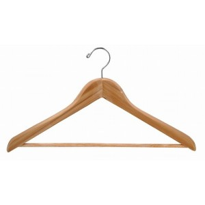 Aromatic Red Cedar Curved Luxury Suit Hanger
