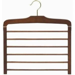 The Ultimate Walnut Wooden Pants Hanger