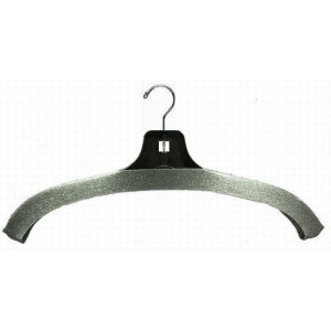 Economical No-Slip Foam Hanger Covers in Gray