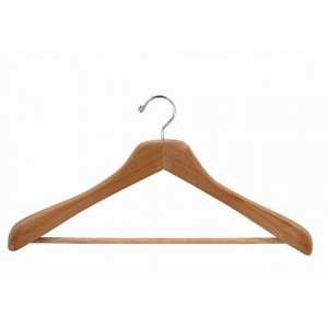 "18"" Aromatic Red Cedar Ultimate Wide Curved Suit Hanger"