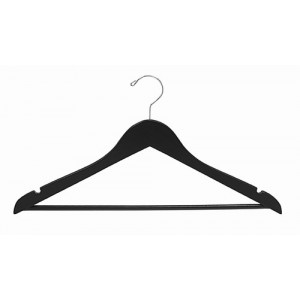 Space Saver Black/Chrome Smart Suit Hanger