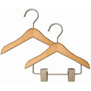 Wooden Baby Doll Clothes Hangers